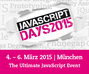 JavaScript Days 2015