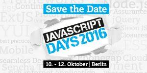 JavaScript Days 2016